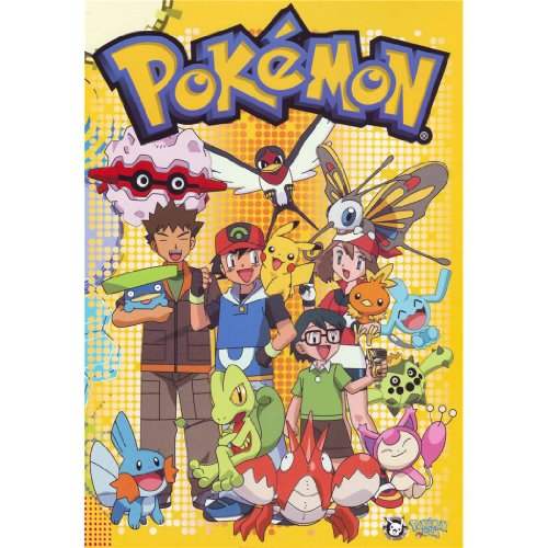 Pikachu-Poster-On-Silk-35cm-x-51cm-14inch-x-20inch-Cartel-de-Seda-AB6A4B