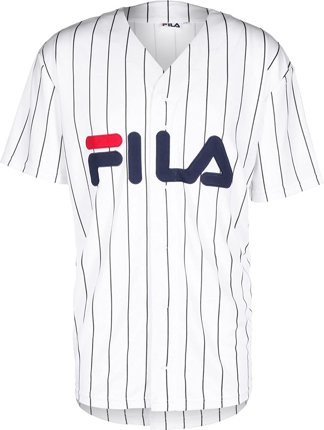 9e74c66e3b95 Fila Men Overwear/Shirt Urban Line Baseball Dawn White S: Amazon.co.uk:  Clothing