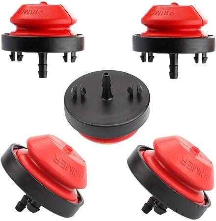 Primer Bulb Fuel Filter Tecumseh Snowblower Snowthrower 570682A 75110639 07101