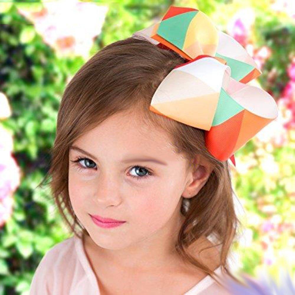 laat fermagli per capelli spillo a capelli bambino Bow In spillo accessori per capelli per bambini 20/colori bowknot per neonati ragazza bambini regalo 20pcs