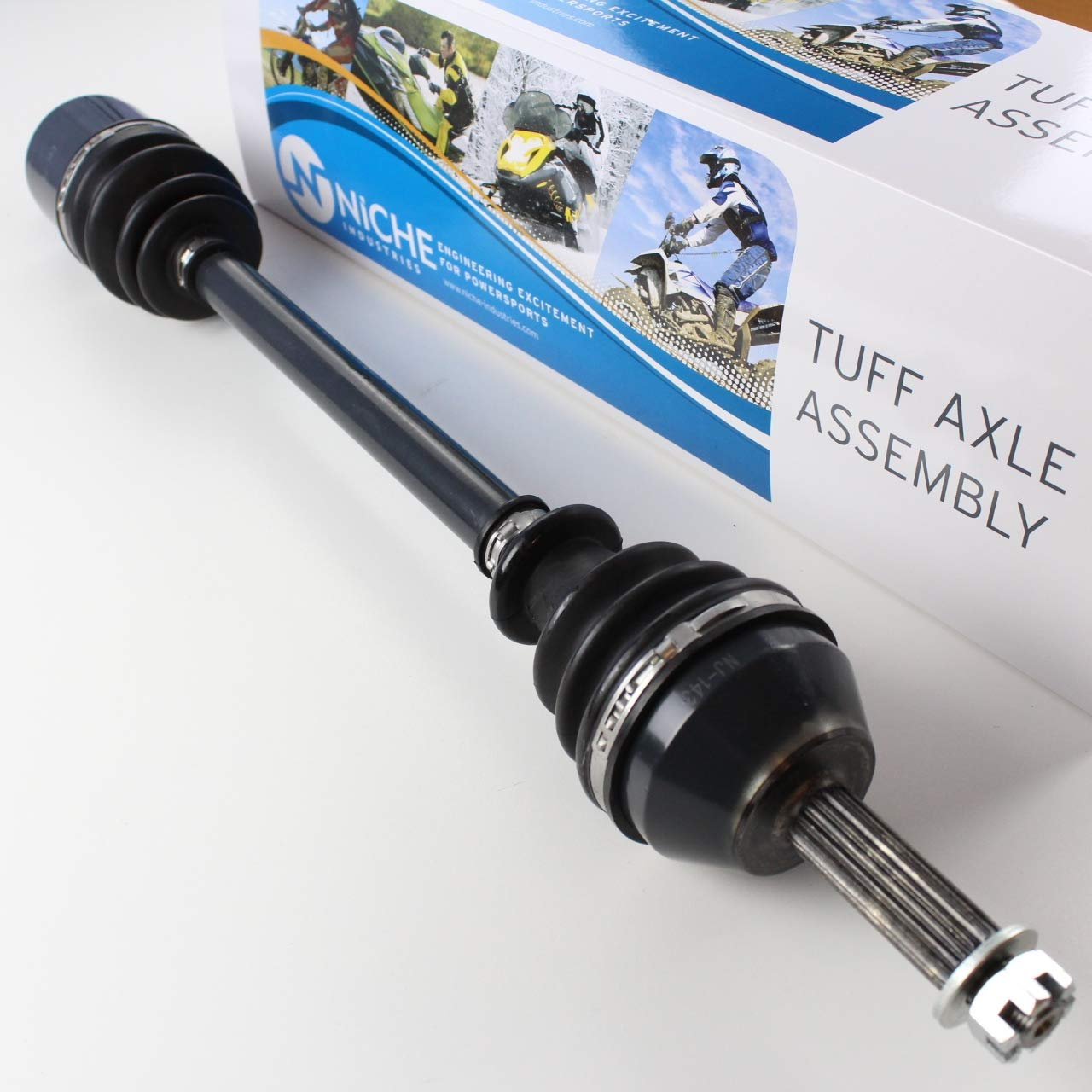 NICHE High Strength Front and Rear Left Right Drive Shaft Axle Kit Combo For 2005-2007 Polaris Ranger 500 1332285