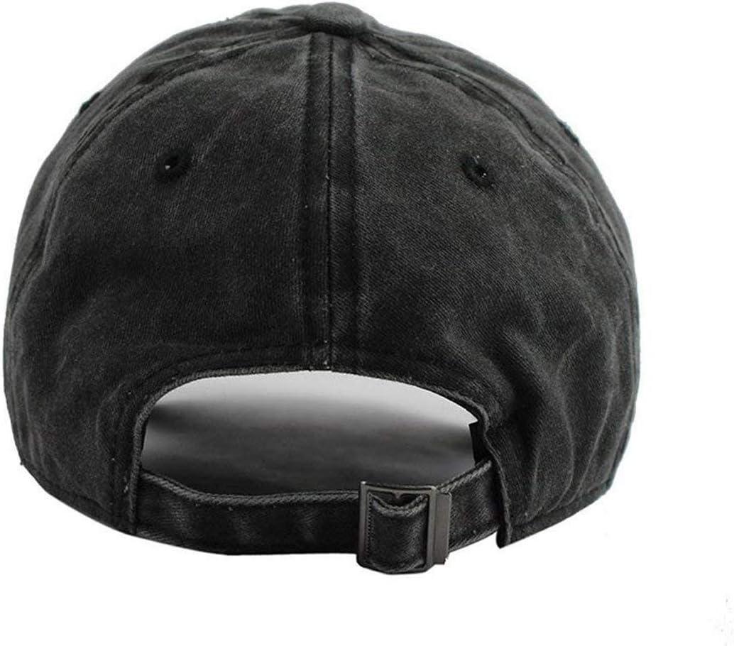 GYHJH Blue Exorcaist Ao No Exorcist Cap Hombres Mujeres Visera Ajustable Fashion Washed Denim Caps Sombreros para Exterior