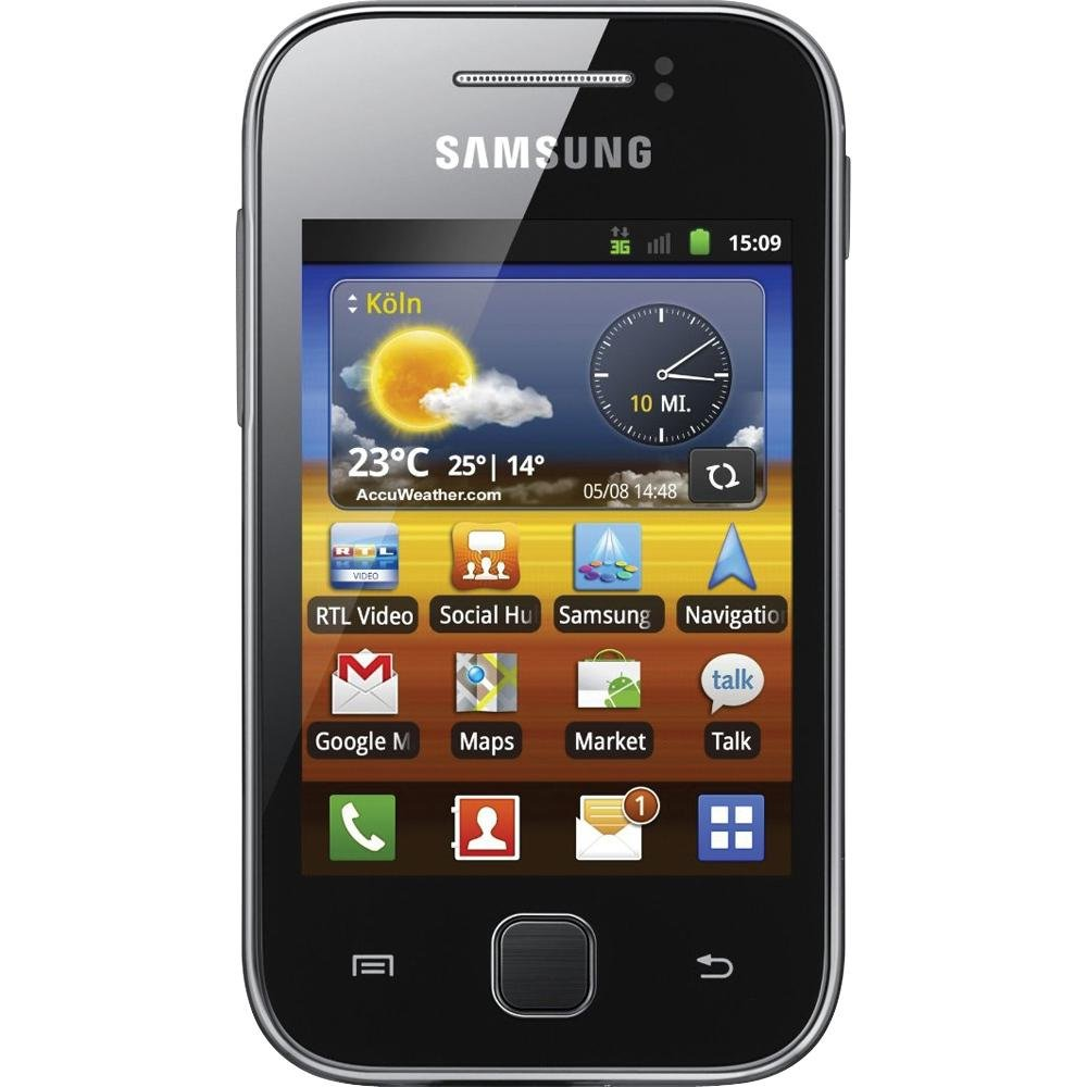 Amazon.com: Samsung Galaxy Y S5360 Unlocked GSM Android 2.3 Touchscreen  Phone - Metallic Gray: Cell Phones & Accessories