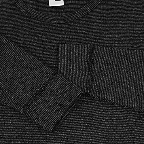 Schwarzes Thermo Langarmshirt von Adamo, bis Wäschegröße 20
