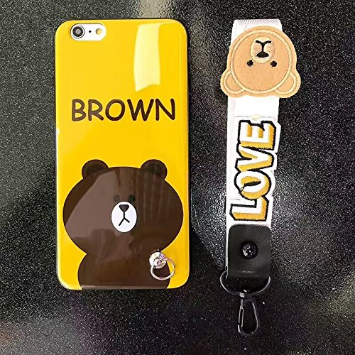 Cute bear picture phone case for Iphone 6 / 6s