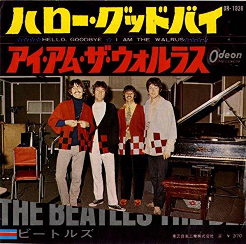 Hello Goodbye / I Am the Walrus (RED VINYL Japan 7