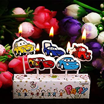 My Party Suppliers Car Candle