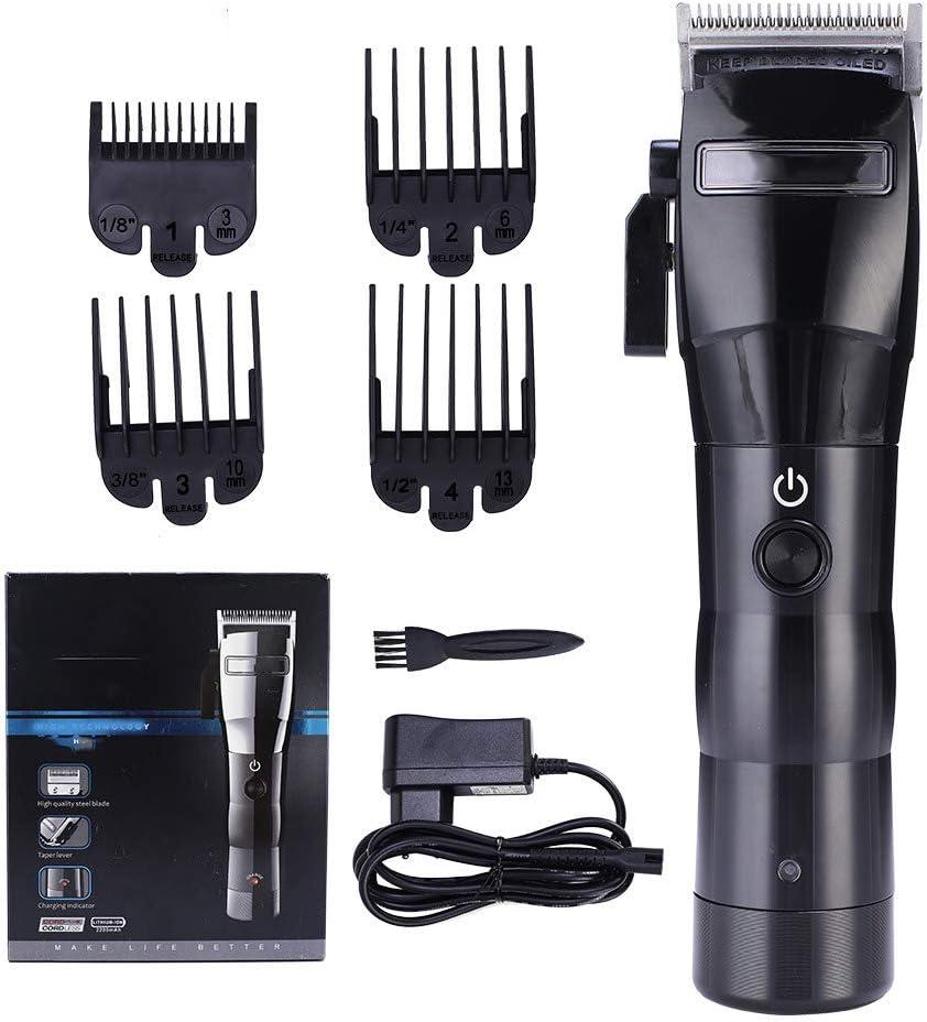 GAOWF Cortadora De Pelo Profesional Inalámbrico Recargable Barba Eléctrica Trimmer Afeitadora Afeitadora Máquina De Corte De Pelo para Hombres Bebé: Amazon.es: Hogar