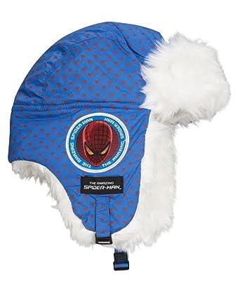 6efba2baac Chapka pour enfant avec motif Spiderman - Bonnet idéal pour l'hiver ou pour  le