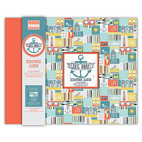 First Edition Sail Away Scrapbook Album 12