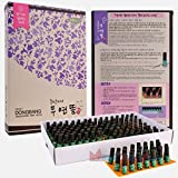 DongBang Acupuncture 100% Wormwood Mugwort Moxibustion Mini Smokeless Moxa Sticks On Cone Roll 1Box 180pcs