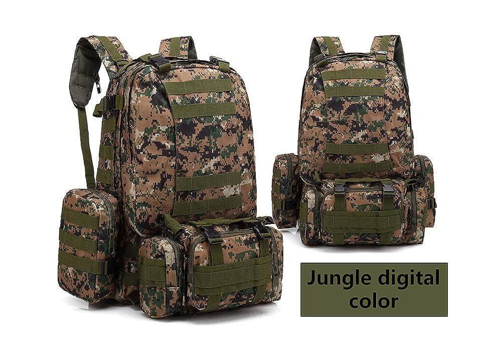 JungledigitalCouleur  Ortho dans le sac à dos montagne camouflage sac à dos tactique alpinisme grande combinaison sac à dos