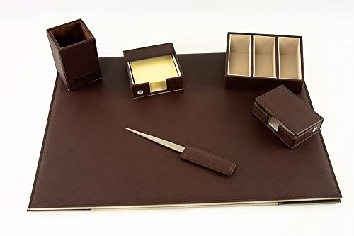 Scrivania Ufficio Regalo : Porta penna da scrivania in radica e ottone ufficio idea regalo ebay