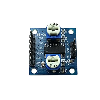 Ecloud Shop PAM8406 MiNi Amplifier Board Module(5W+5W) D Class Amplifier Board