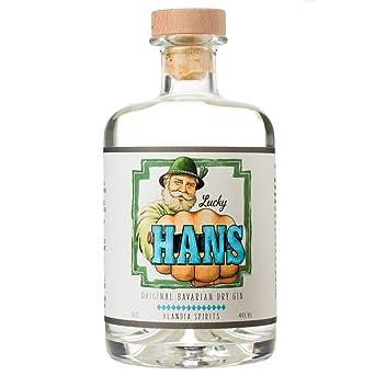 ef22008ae89d70 Lucky HANS Bavarian Dry Gin | Deutscher Craft Gin aus Bayern |  Ausschließlich mit einheimischen Botanicals