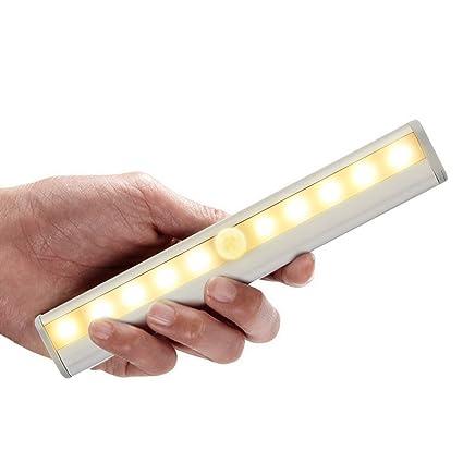 Preup nueva tdl-7120 10 LED IR Infrarrojo Detector de movimiento inalámbrico Sensor armario luz