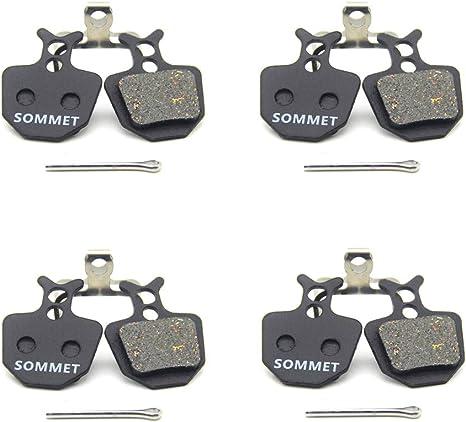 SOMMET Pastiglie freno a disco semi-metallico per FORMULA Oro Hydraulic K18 K24 PURO Bianco ZSP14-1