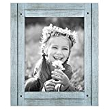 Americanflat 8x10 Robin Blue Distressed Wood Frame Made to Display 8x10 Deal (Small Image)