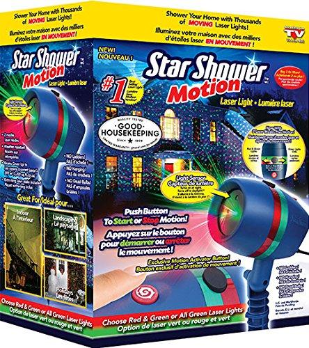 Amazon #LightningDeal 56% claimed: 21% Off As Seen on TV Star Shower Motion Laser Light