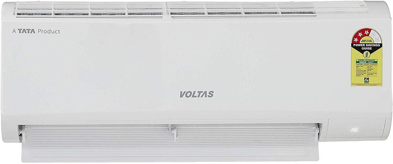 Voltas 1 Ton Inverter Split AC Copper – 3 Star  123V_DZX White