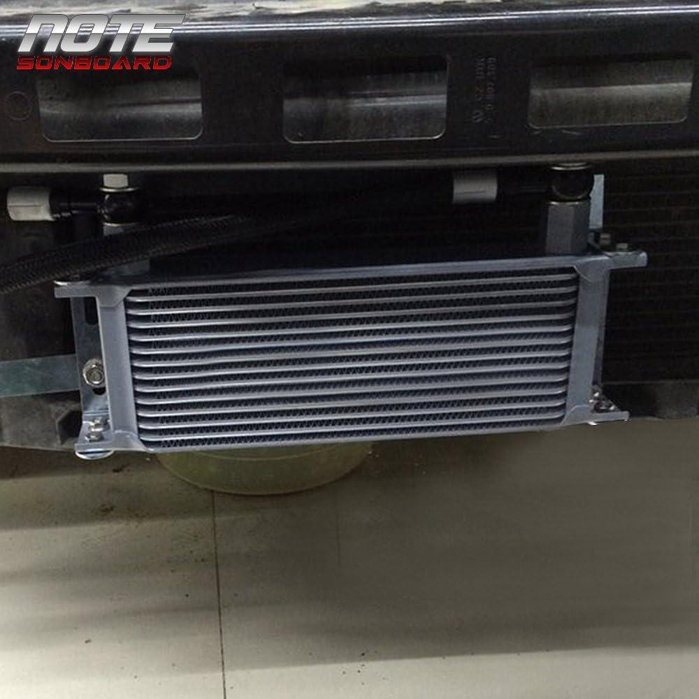 Rev9 OCK-1091 19 Row Core Oil Cooler Kit; Bolt On Upgrade; compatible with Subaru Impreza WRX EJ20 2002-05 WRX//STI WRX STI EJ25