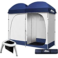 Shower Camping Tent Portable Toilet Stand Optional Weisshorn Changing Privacy Room Double Outdoor Loo Shelter for Camp…