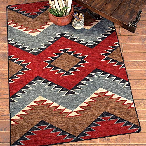 BLACK FOREST DECOR Heritage Southwestern Rug - 8 x 11