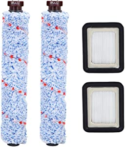 Ymiko Household Vacuum Cleaner Accessories Roller Brush Filter for Bissell Crosswave 1785 Series Vacuum Cleaner Replacement Part
