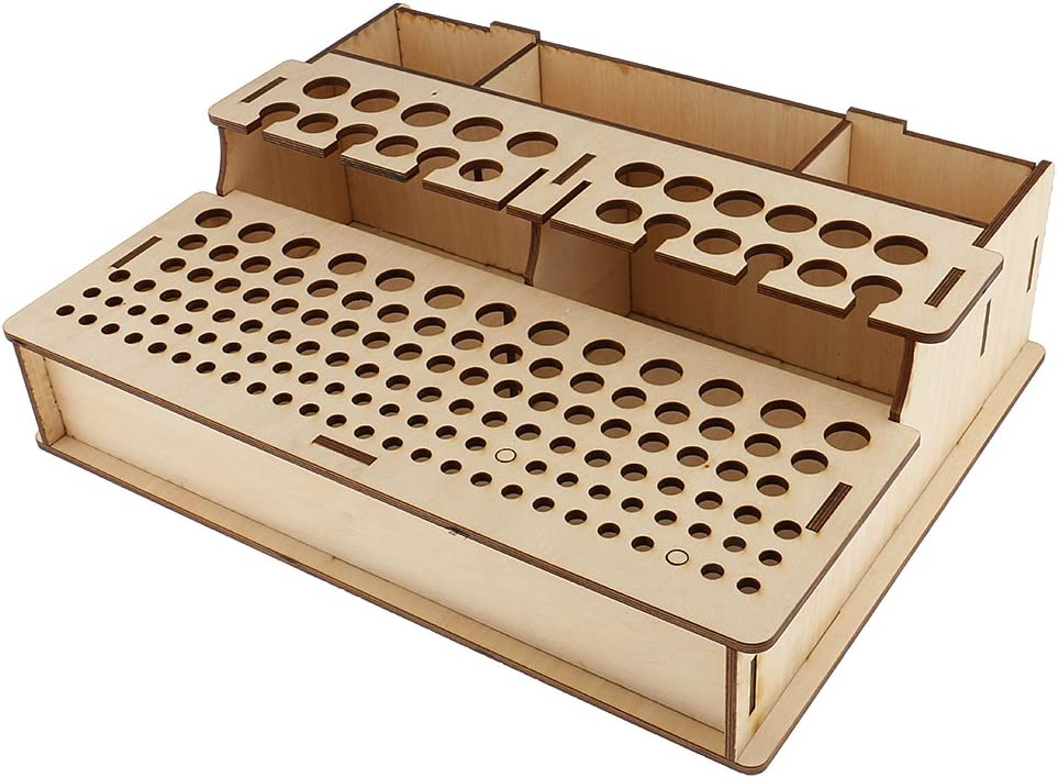 Rack Wood Stand for Storing Leather Tools LeatherMob Kyoshin Elle Leathercraft Craft