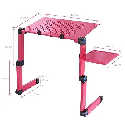 PAUL CRAIG - Mesa de ordenador portátil ergonómica con soporte de ...