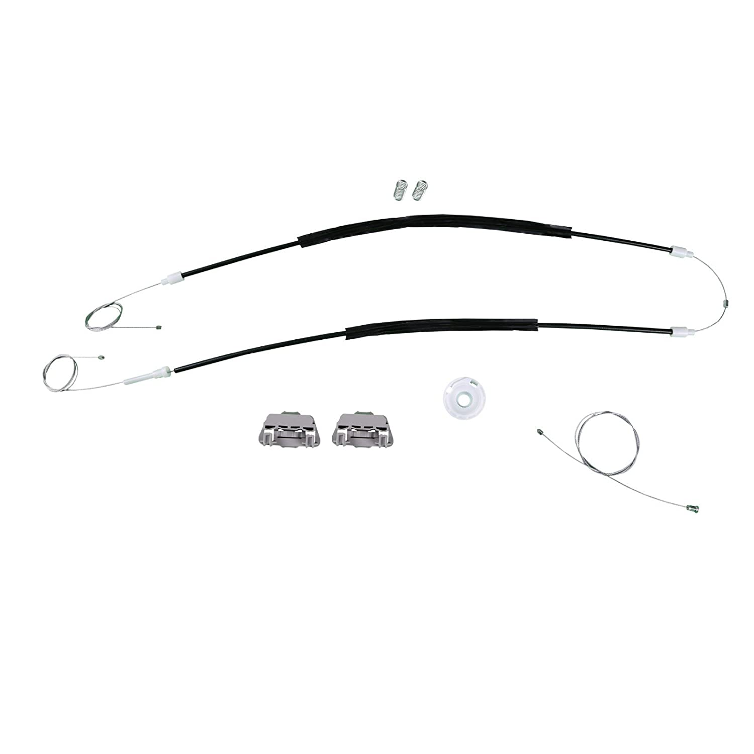 Bross BWR551FBA Window Regulator Repair Kit Front Right Door for Ford Focus Coupe 1998-2005 Bross Auto Parts