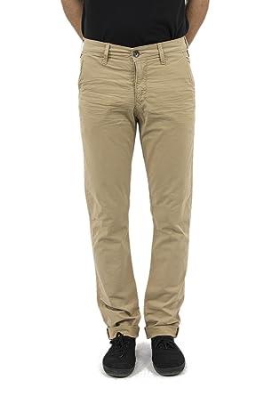 03d7940d0ea Lee Cooper Pantalons garven 7336 Garment Dye Leg 34 Beige  Amazon.fr ...