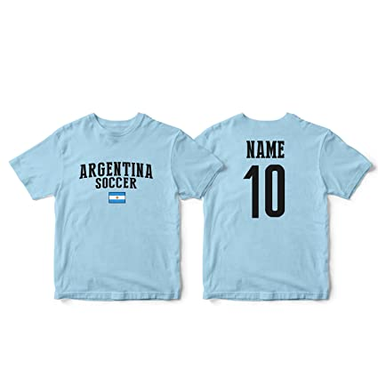 c6e477ef18b nobrand Argentina Men s Flag National Pride Man Soccer Team T-Shirt Soccer  Jersey (Men
