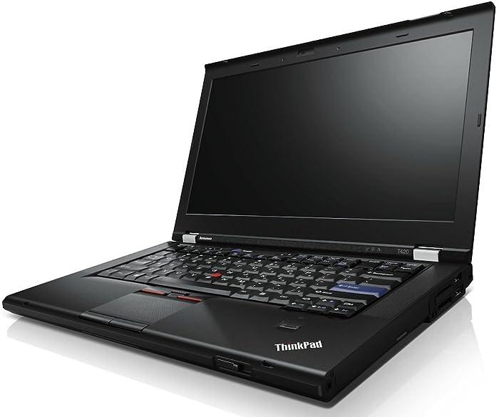 "Lenovo ThinkPad T420 Business Laptop - Windows 10 Pro - Intel Core i5-2520, 256GB SSD, 8GB RAM, 14.0"" HD (1366x768) Anti-Glare Display, ThinkLight Keyboard Light, DVD/CD-RW Drive, VGA"