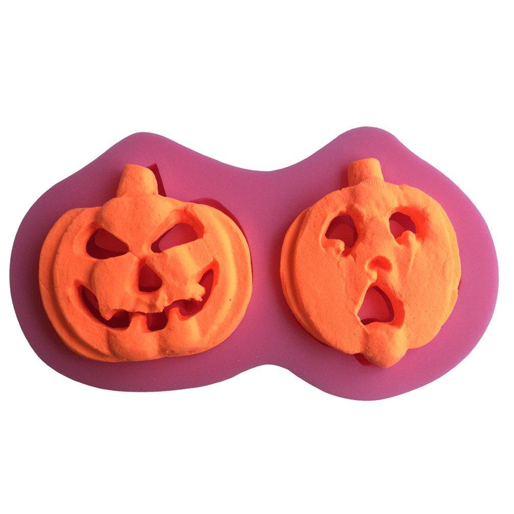 LYNCH calabaza Farol de silicona de los dibujos de los instrumentos Molde de tarta de chocolate para Halloween: Amazon.es: Hogar