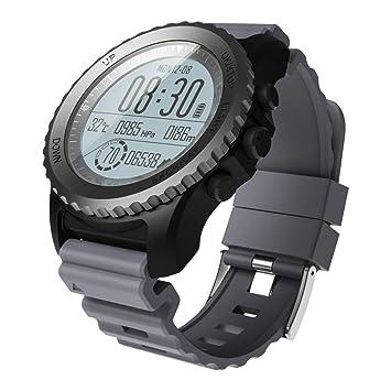 OOLIFENG GPS Al Aire Libre Reloj Aventurero Relojes Incluye Barómetro/Termómetro Funciones para Triatlón Alpinismo Excursionismo,Gray: Amazon.es: Deportes y ...