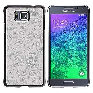 Be Good Phone Accessory // Dura Cáscara cubierta Protectora Caso Carcasa Funda de Protección para Samsung GALAXY ALPHA G850 // Psychedelic Pattern
