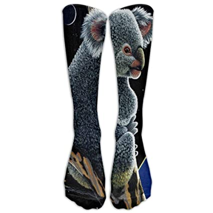 Cute Koala Unisex Dress Athletic Stocking Socks