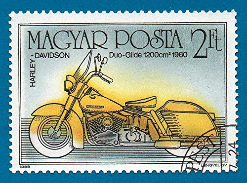 - Used Hungary Stamp (1985) 2ft Harley Davidson Motorcycle Scott# 2965