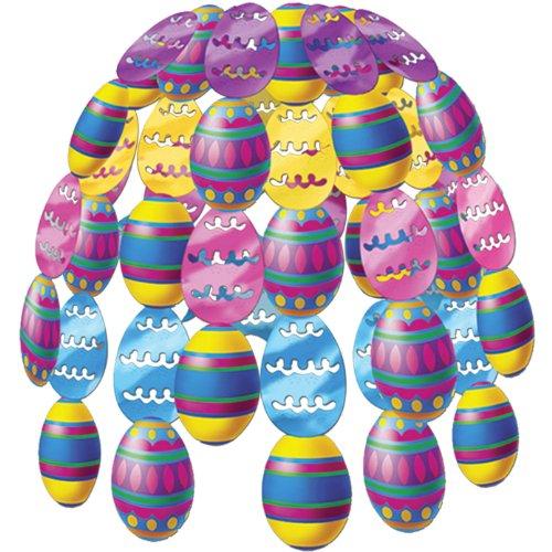Color Bright Egg Cascade Party Accessory (1 count) (1/Pkg) Easter Egg Cascade