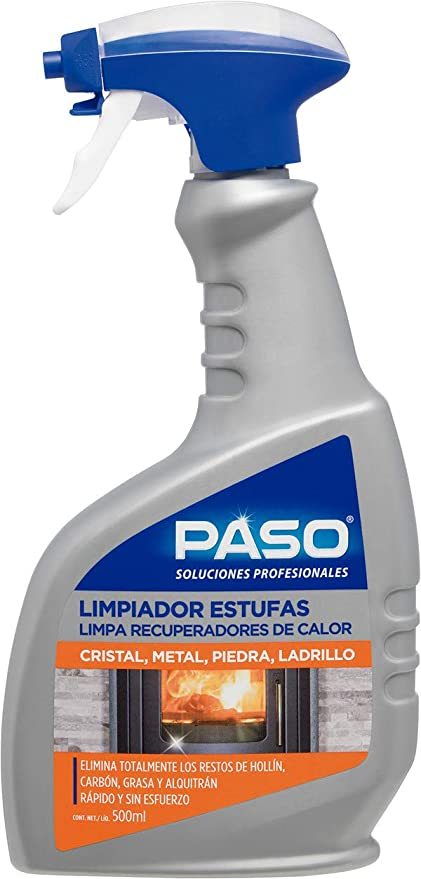 PASO LIMPIADOR CRISTAL ESTUFA PISTOLA 500 ML