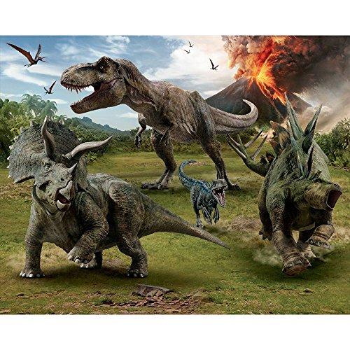 Walltastic Jurassic World Dinosaur Wall Mural 2.44m x (Dinosaur Wallpaper Mural)