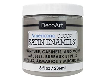 DecoArt DECADSA-36.19 Decor Satin Enamels Greytaup Americana Decor Satin Enamels 8oz Greytaup