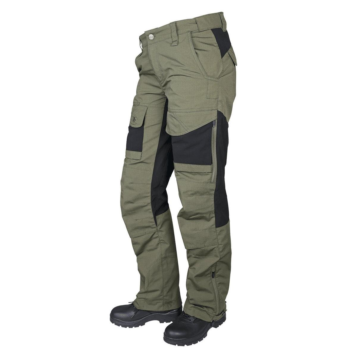TRU-SPEC Women's Pants, 24-7 Women's Xpedition, Ranger Green/Black, W: 2'' x L: 32'' by Tru-Spec