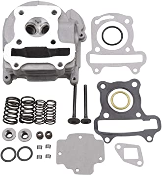 GOOFIT Cylinder Head Gasket Kit for GY6 49cc 50cc ATV Scooter 139QMA//B Engine Part