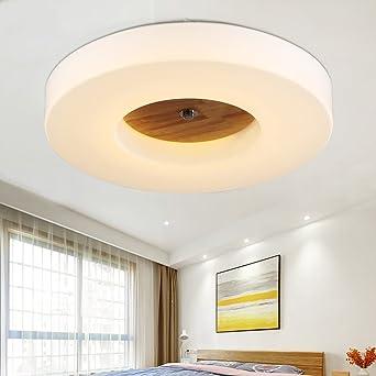 Außergewöhnlich Versprechen Dimmen Decke Wohnzimmer Lampe Schlafzimmer Lampe Warmes Holz  Minimalistischem Runden Balkon Gang Lichter Lampe LED