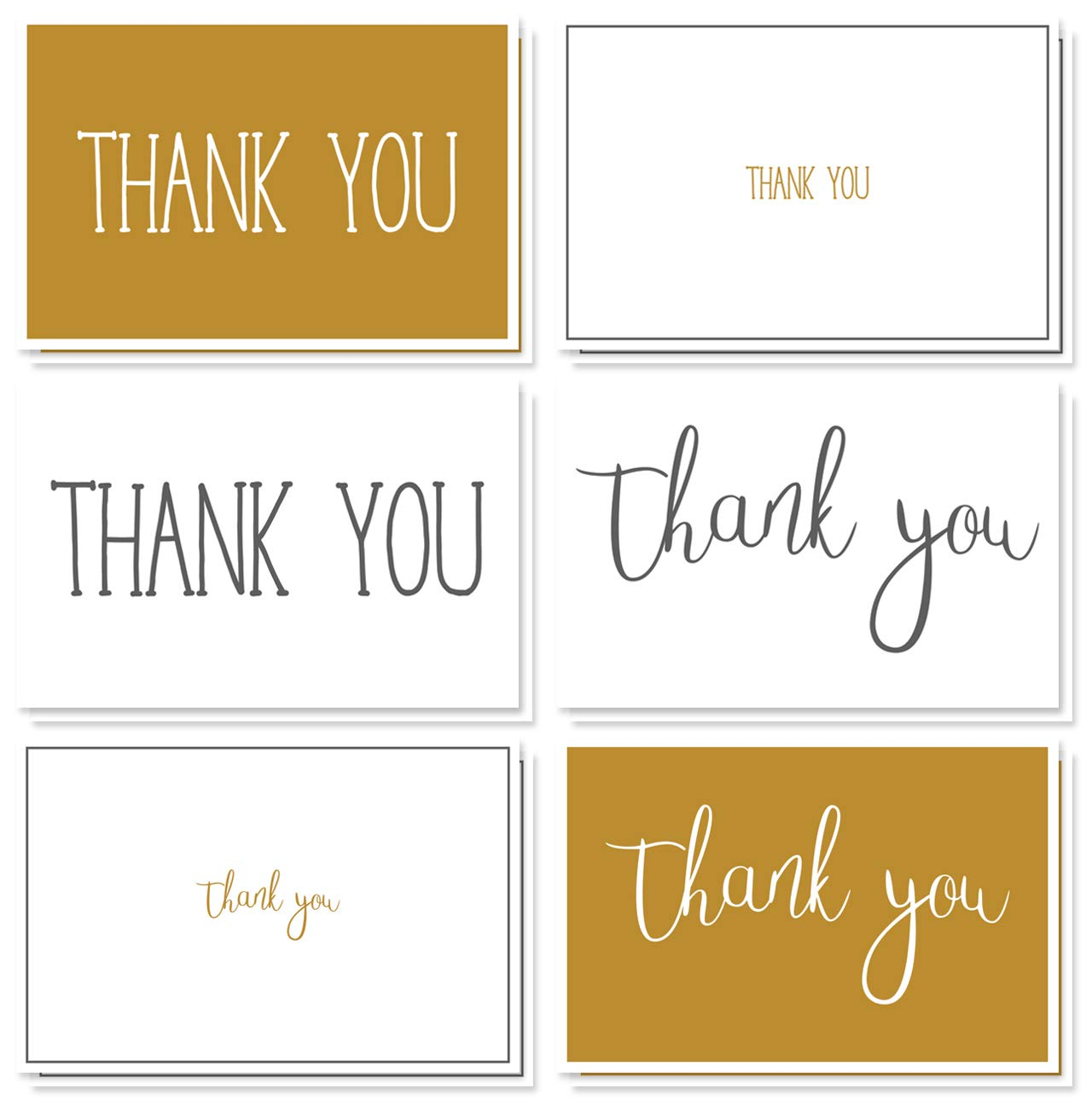 Amazon Thank You Cards 48 Count Thank You Notes Bulk Thank