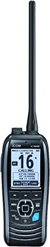 5W Marine Two-Way Portable VHF Handheld Radio with GPS/DSC with Antenna [Icom] Picture