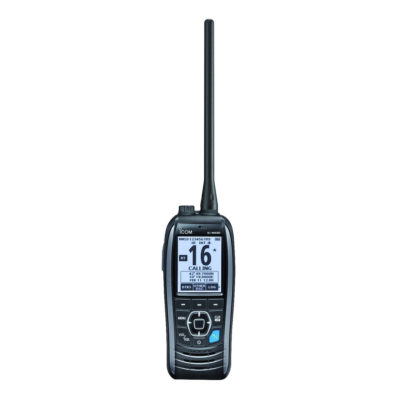 ICOM IC-M93D Marine VHF Handheld Radio with GPS & DSC, 5W by Icom