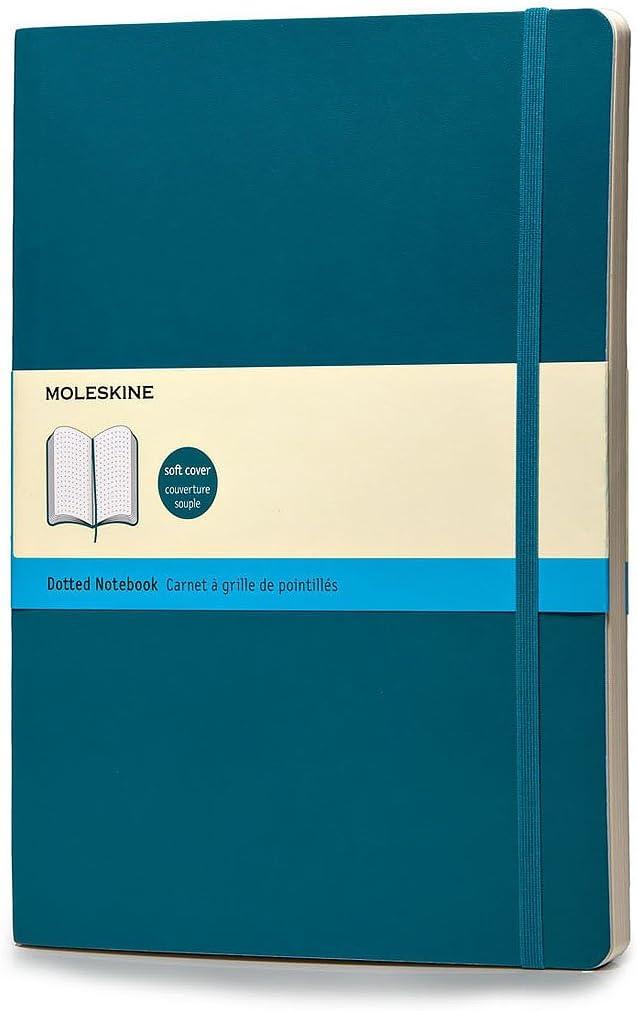 Moleskine Classic - Cuaderno de tapa blanda, color azul verdoso ...